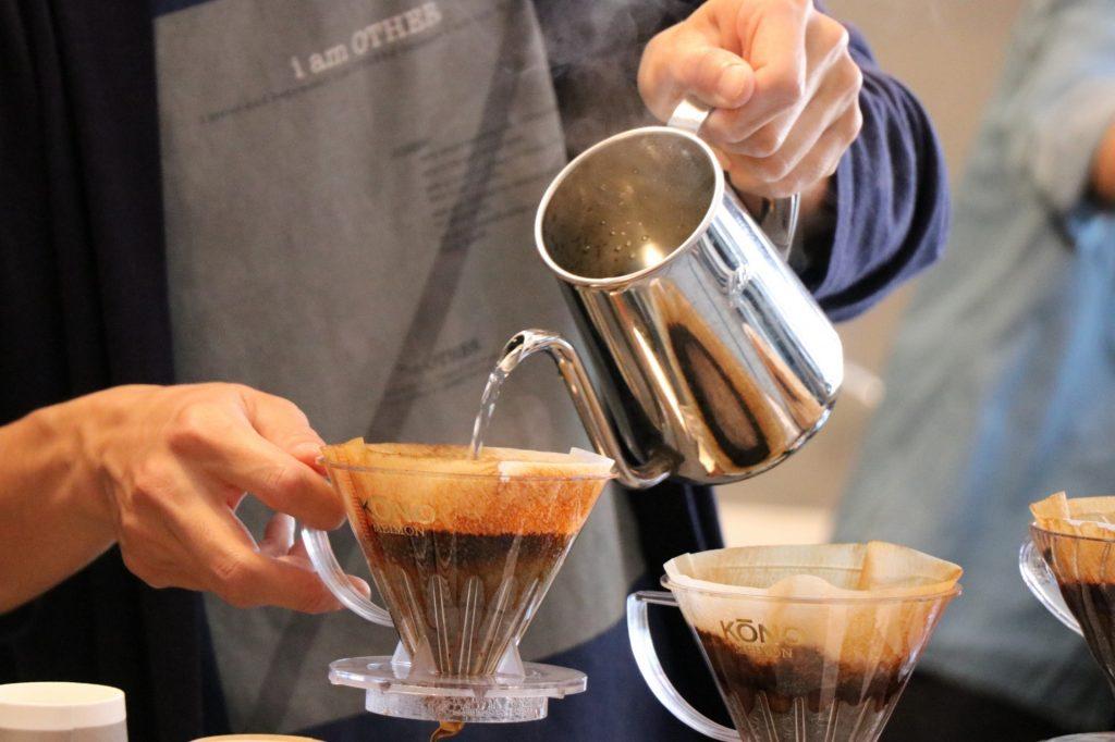 コーヒーを美味しく淹れる