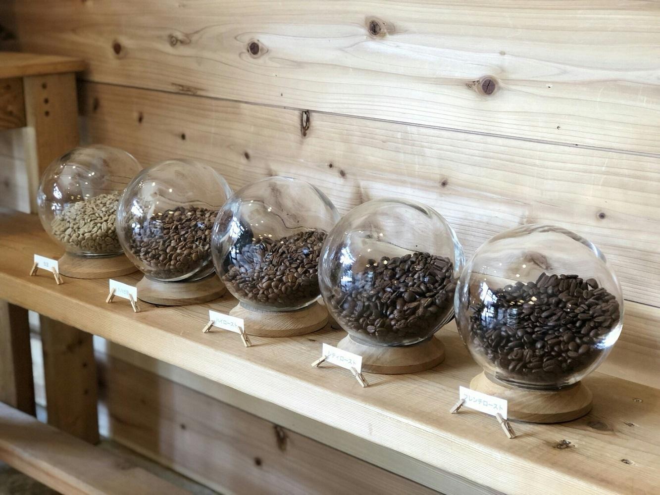 販売用コーヒー豆